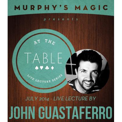 At the Table Live Lecture - John Guastaferro 7/23/2014