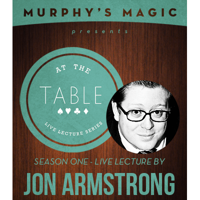At the Table Live Lecture - Jon Armstrong 6/4/2014