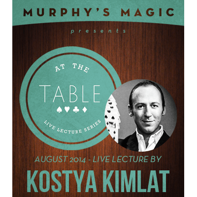 At the Table Live Lecture - Kostya Kimlat 8/13/2014