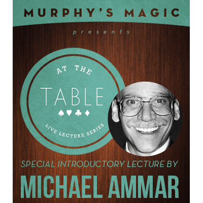 At the Table Live Lecture - Michael Ammar 2/5/2014