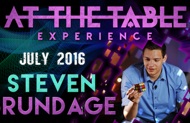 At the Table Live Lecture Steven Brundage July 20th 2016