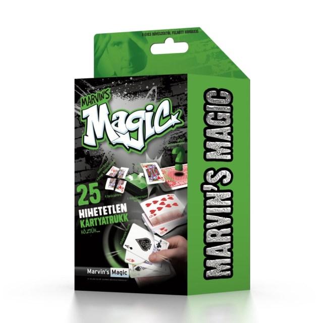 Marvin's Magic szemfényvesztő készlet - hihetetlen kártya trükkök