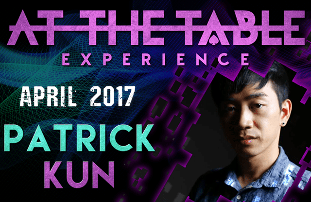 At The Table Live Lecture Patrick Kun April 5th 2017