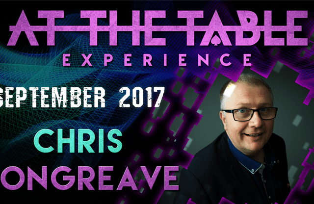 At The Table Live Lecture Chris Congreave September 6th 2017