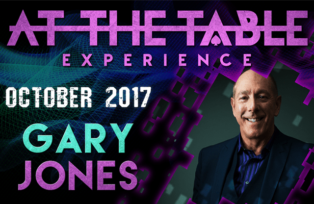 At The Table Live Lecture Gary Jones October 18th 2017