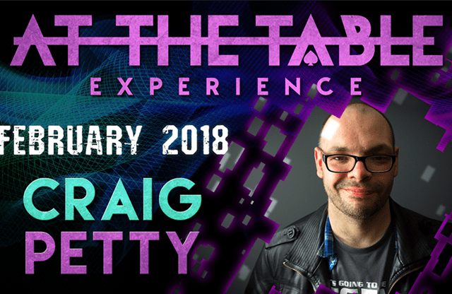 At The Table Live Lecture Craig Petty February 7th 2018