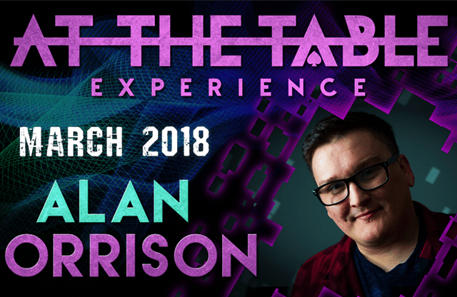 At The Table Live Lecture 2 Alan Rorrison March 7th 2018
