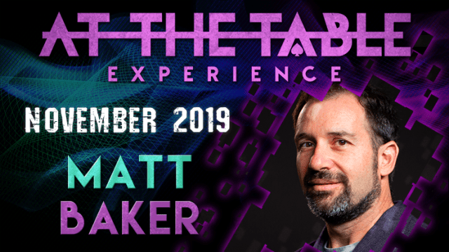 At The Table Live Lecture Matt Baker November 6th