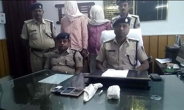 कुरियर कंपनी से लूटे रुपये बरामद, अपराधी गए जेल