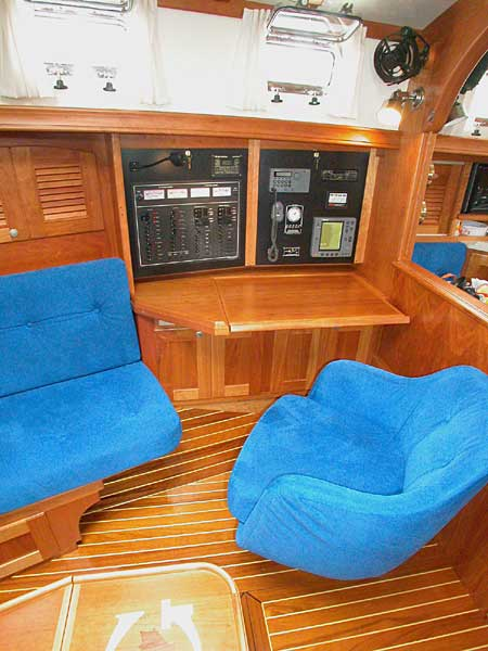Gozzard 44 by North Castle Marine for Sale by Jan Guthrie