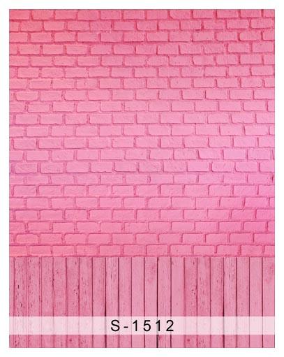 photography pink brick wall