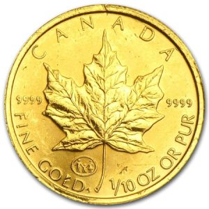 Canadian Gold Maple Leafs are among the best-selling gold coins 2015,