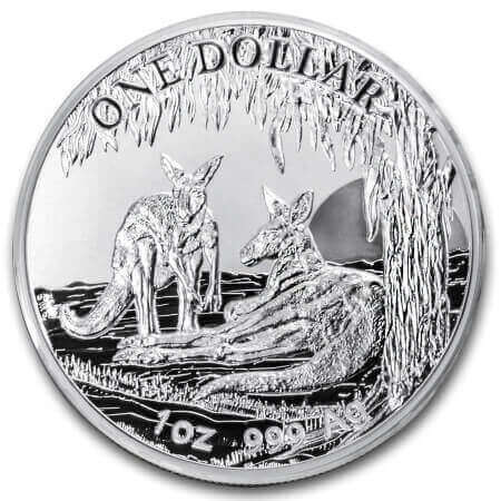 Silver Kangaroos by the Royal Australian Mint