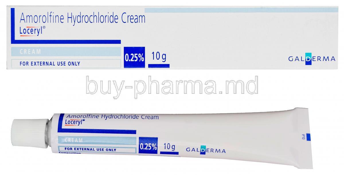 購買阿莫羅芬 膏 ( Loceryl (amorolfine ) ) Online