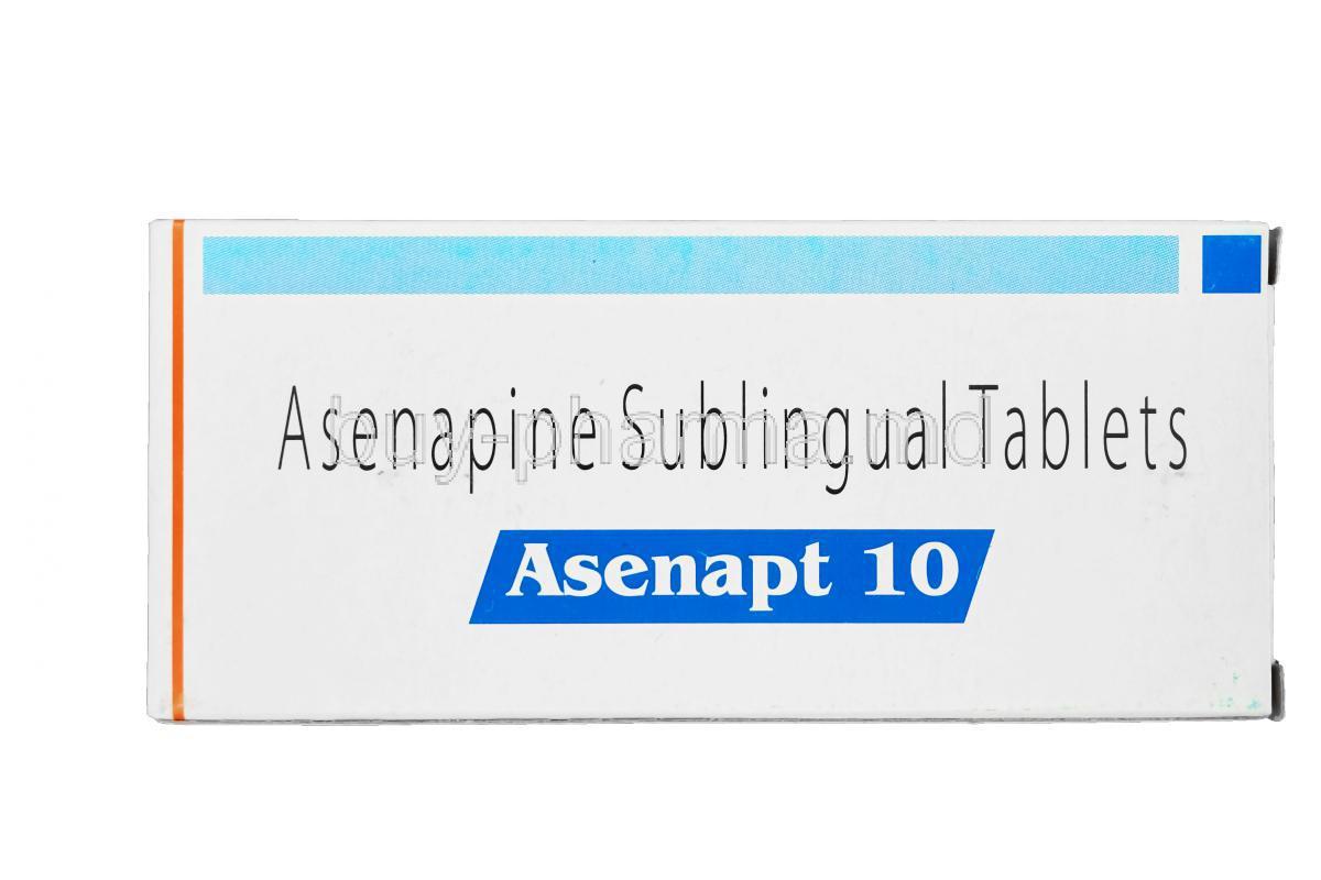Buy Asenapine Maleate ( Generic Saphris ) Online
