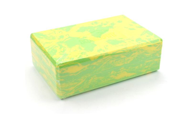 camouflage yoga block