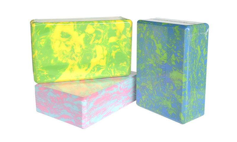 camouflage yoga bricks