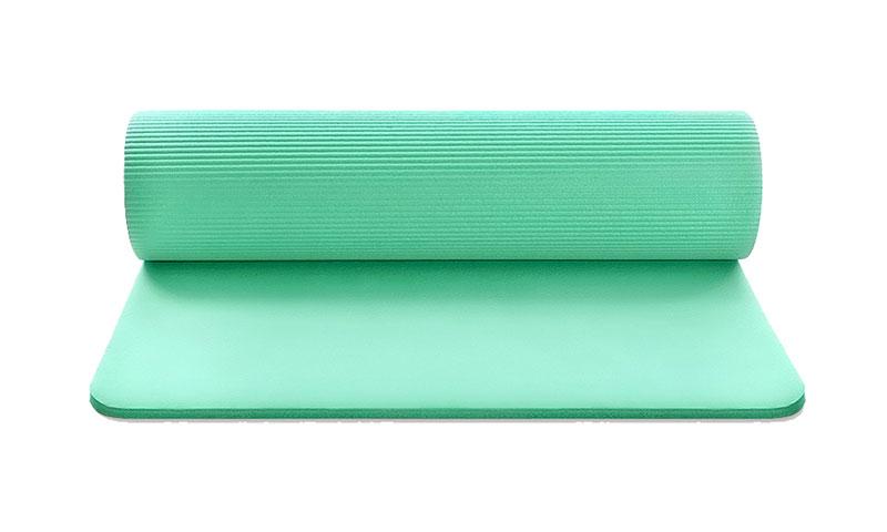 non-slip green NBR yoga mat