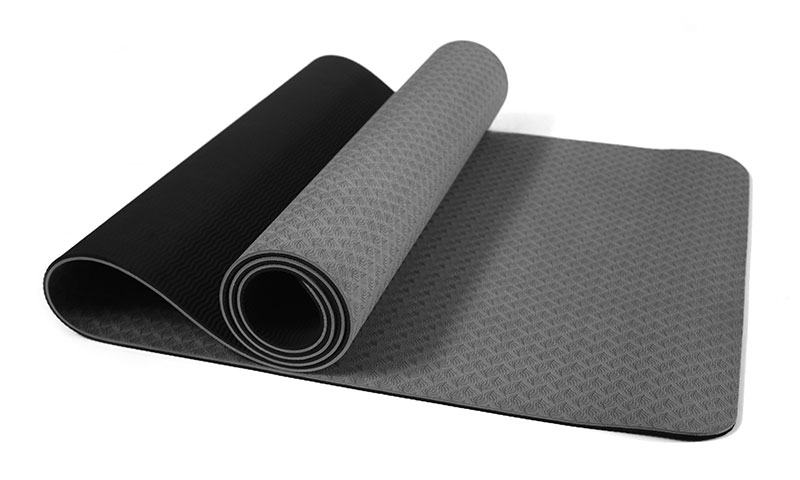 organic double layer TPE yoga mat