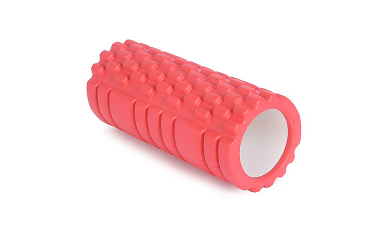 red hollow yoga roller