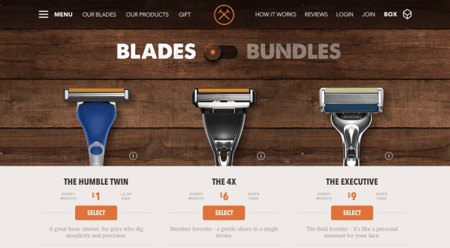site dollarshave club