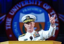ex-seal William h. mcraven