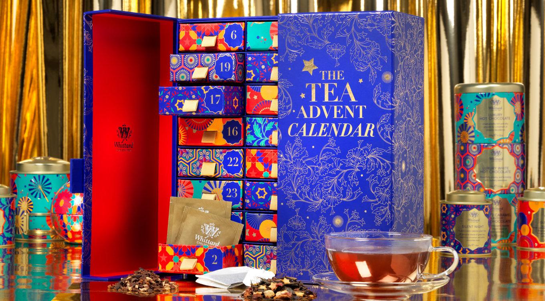 百年茶莊 Whittard 推聖誕倒數日曆   Buyandship 國際網購轉運(香港)