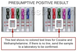 Drug confirmation test