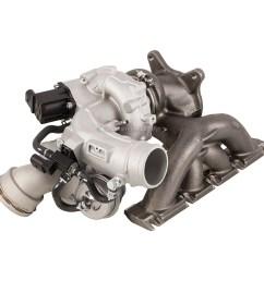2009 2013 volkswagen tiguan turbocharger [ 1000 x 1000 Pixel ]