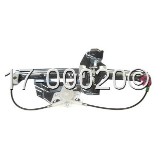 cadillac window regulator with motor Parts, View Online