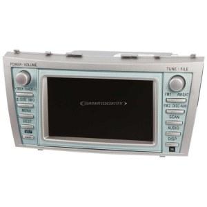 2007 Toyota Camry Navigation Unit InDash Navigation Unit
