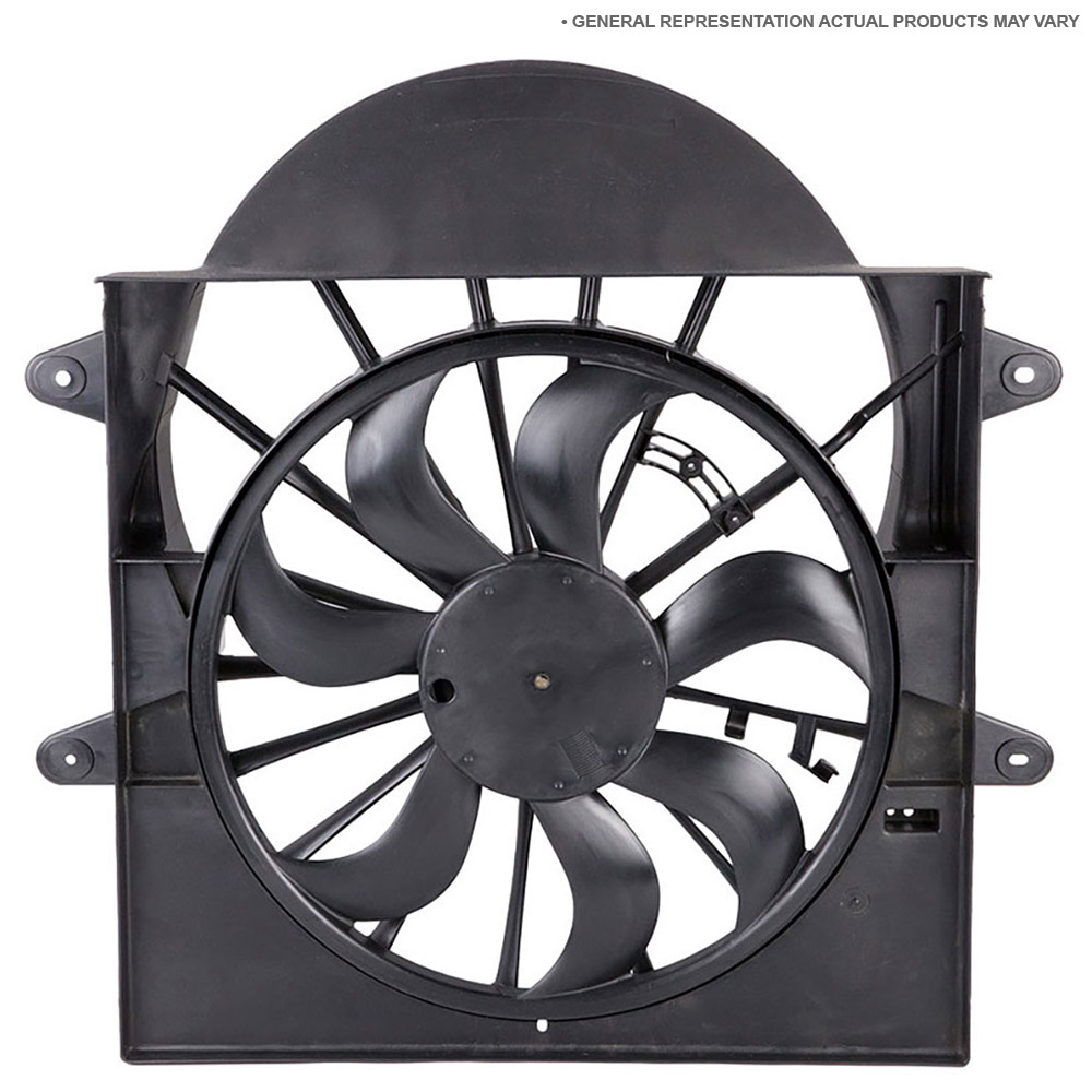 medium resolution of nissan cube cooling fan assembly