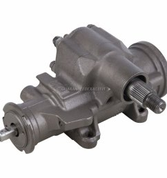 reman power steering gearbox for chevy gmc full size truck suv van gmt800 [ 1000 x 1000 Pixel ]