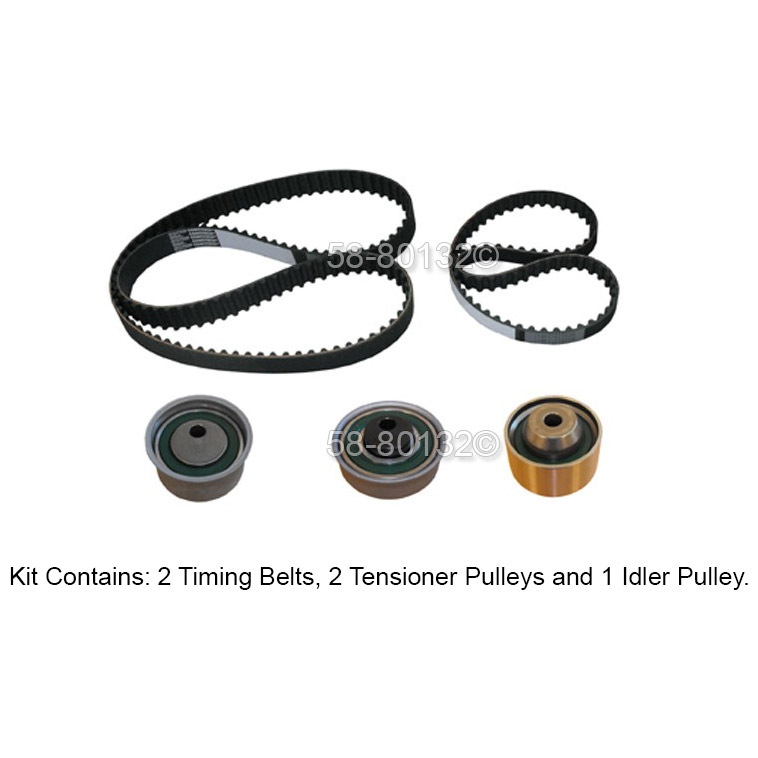 Mitsubishi Outlander Timing Belt Kit Parts, View Online