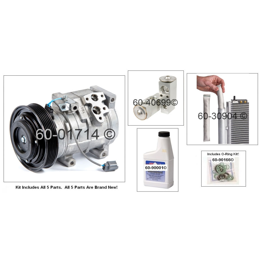 Honda Odyssey AC Compressor and Components Kit Parts, View