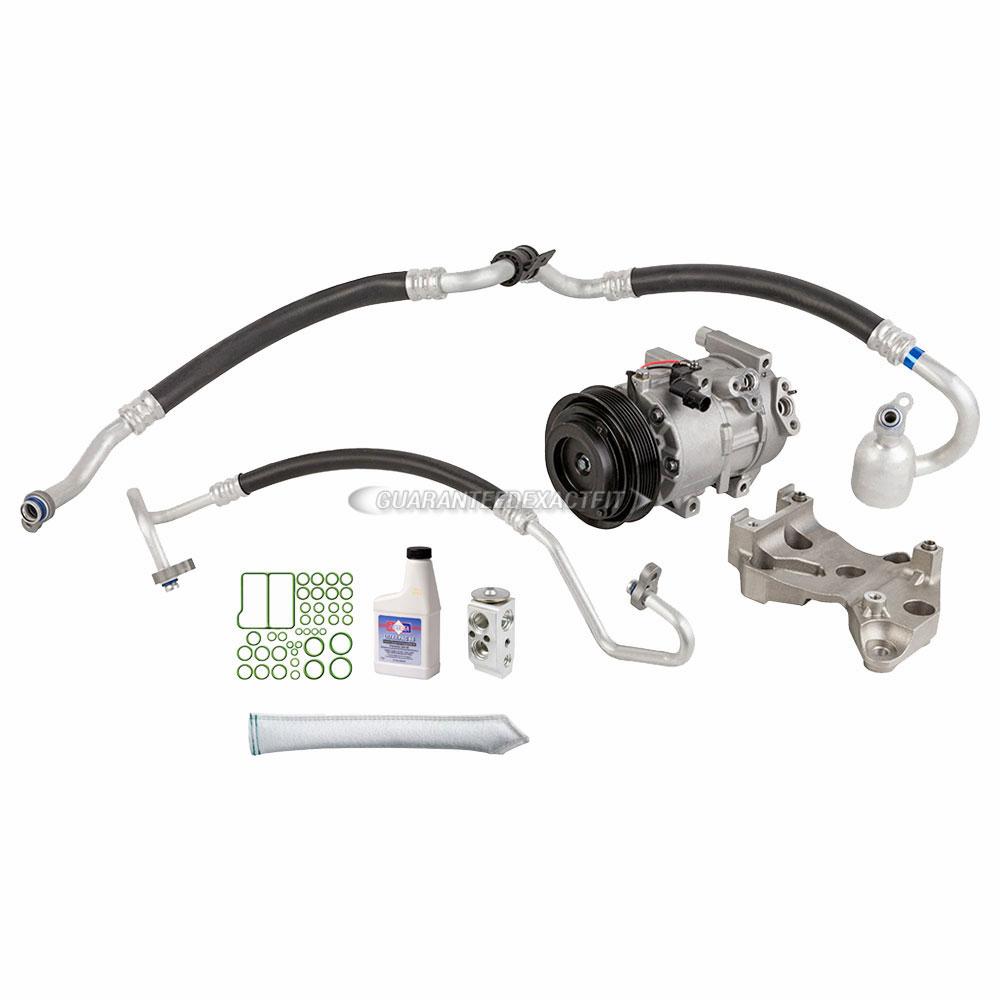 2007 Kia Rondo A/C Compressor and Components Kit 2.7L
