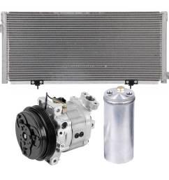 a c compressor and components kit  [ 1000 x 1000 Pixel ]