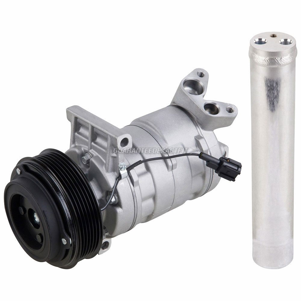 hight resolution of ac compressor w a c drier for nissan versa cube