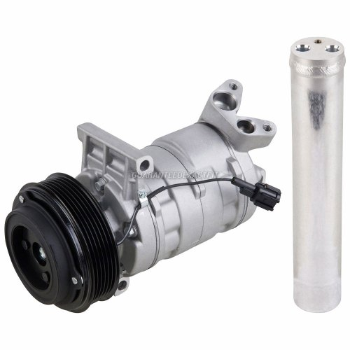 small resolution of ac compressor w a c drier for nissan versa cube