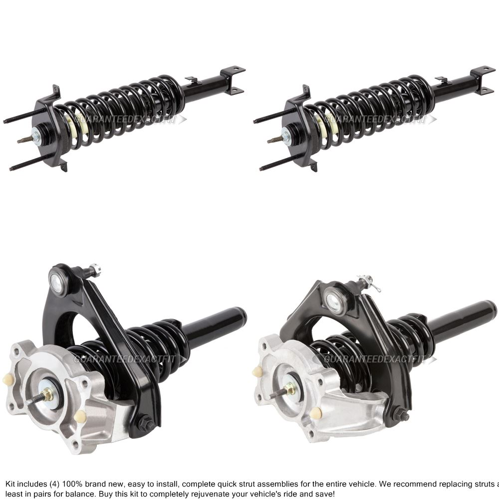 2005 Chrysler Sebring Shock and Strut Set Convertible