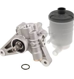 honda accord power steering pump kit [ 1000 x 1000 Pixel ]