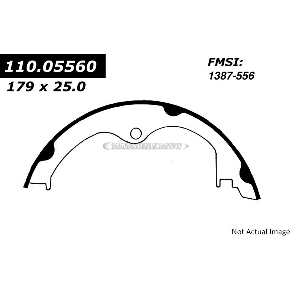 Chevrolet Corvette Parking Brake Shoe Parts, View Online