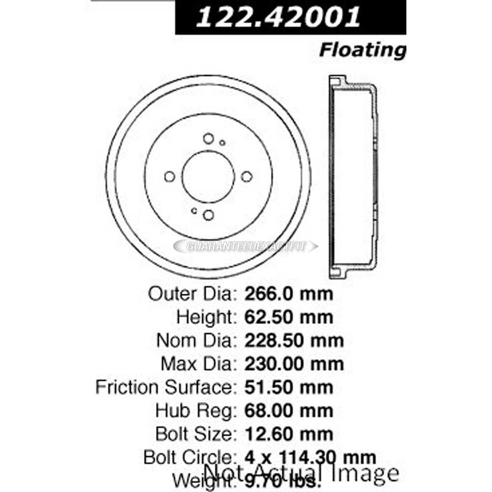 For Nissan 200SX 810 Maxima Stanza Axxess Altima Centric