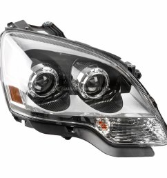 2009 gmc acadia headlight assembly  [ 1000 x 1000 Pixel ]