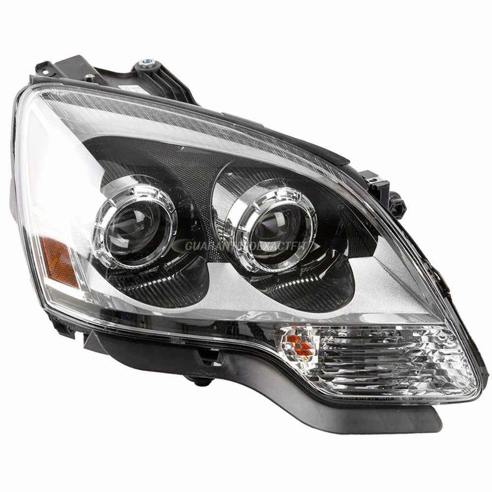 medium resolution of 2009 gmc acadia headlight assembly