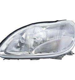 mercedes benz s430 headlight assembly [ 1000 x 1000 Pixel ]
