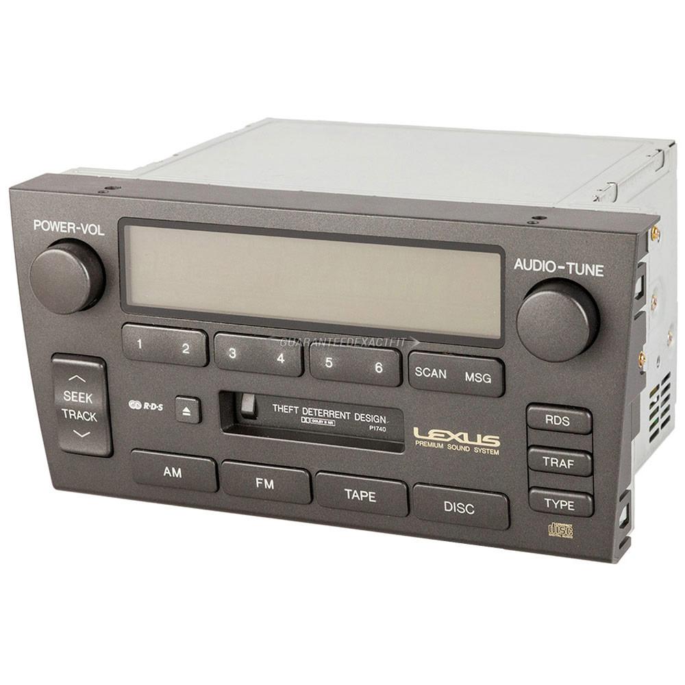 hight resolution of lexus gs300 radio or cd player