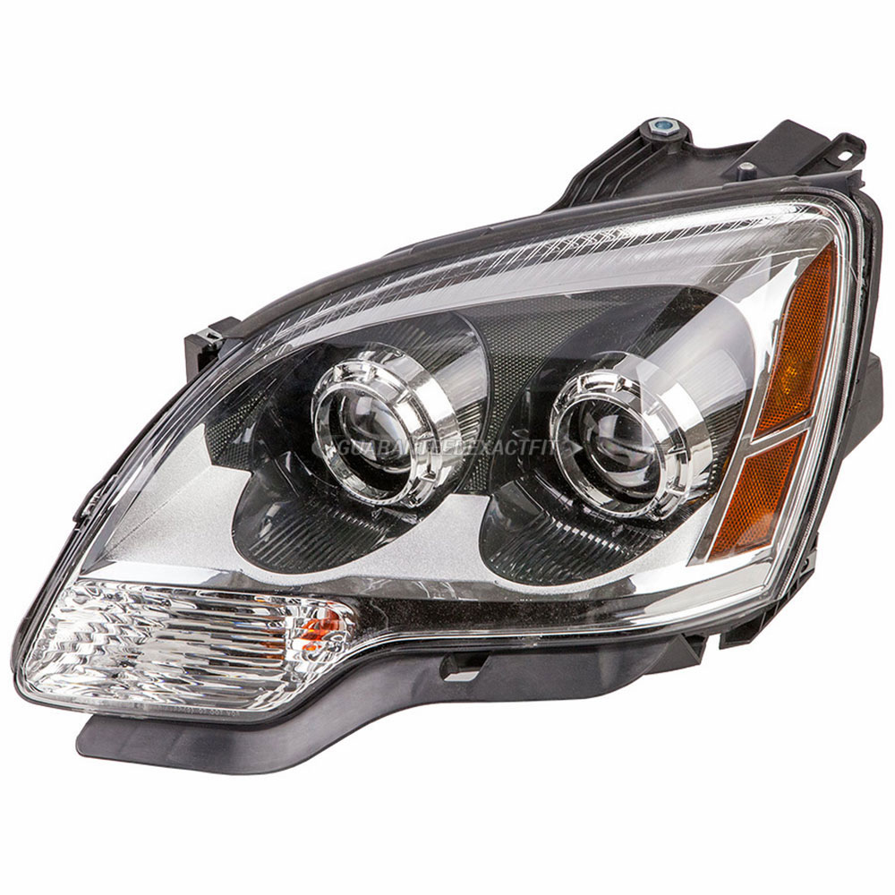 hight resolution of gmc acadia headlight assembly