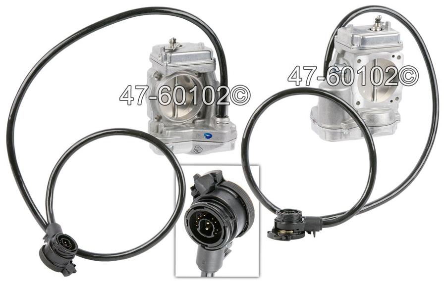 Mercedes Benz S500 Throttle Body Parts, View Online Part