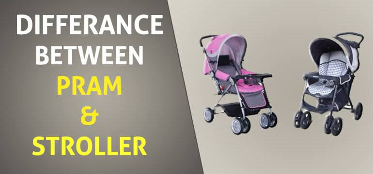 What is the Difference Between Pram and Stroller